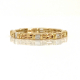 18k-Gold-Double Baguette-Diamond-Wedding -Band-Stacking-Ring-Guard-CBLR-06B