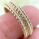 Cabriole Diamond Eternity Ring Stacking 7653 copy