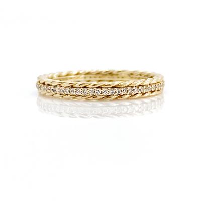 Cabriole Diamond Eternity Ring