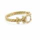 Handmade-pirouette-twist-wrapped-18k-gold-rose-cut-white-diamond-engagement-ring-customize-CBLR-02