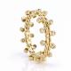 18k-gold-diamond-dot-Twist-Texture-band-Stacking-ring-CBLR-04