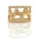 Jewelyrie-Signature-Pirouette-Twist-Diamond-trio-crown-Eternity-Ring-stacking-set
