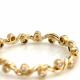 18k-Gold-Twist-Ribbon-Diamond-Stacking-Eternity-Band-Alternative-bridal fro- Glissade-Collection-Jewelyrie