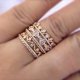 Jewelyrie-Glissade-collection-18k-Gold-Diamond-Eternity-Wedding-Band-Stacking-Ring-Set