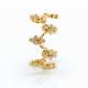 18K-Gold-Diamond-Cluster-Crest-Zig-Zag-Lace-Fashion Ring-GLIR-07
