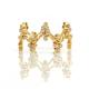 18K-Gold-Diamond-Cluster-Crest-Wavy-Stacking-Fashion-Ring-Eternity-band-GLIR-07
