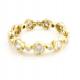 18K-Gold-Twist-Petal-Cup-Rose-Cut-Diamond-Eternity-Band-Stacking-Ring-GLIR-01