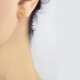 18k-gold-diamond-four-star-twist-bar-studs-JeweLyrie-tulle-collection-SIS-E-04