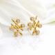 18k-gold-diamond-four-star-twist-bar-stud-earrings-SIS-s