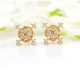 18k-Gold-Diamond-Four-Star-Twist-Box-Stud-Earrings-JAX-S