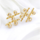 18k-Gold-Diamond-Five-Star-Twist-Stud-Earrings-from-Jewelyrie-KIKW