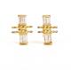 18k-Gold-Flank-Baguette-Diamond-Twist-Stud-Earrings-from-Jewelyrie-by-Huan-Wang
