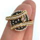 18k-Gold-Sterling-Silver-Mix-Metal-Bypass-Diamond-Statement-Ring-Jewelyrie-onne