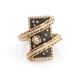 18k-Gold-Diamond-Accent-Mix-Metal-Darkened-Rectangle-Statement-Ring