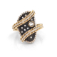 18k-Diamond-Accent-Mix-Metal-Free-Form-Oval-Statement-Ring-Jewelyrie-Ballotté